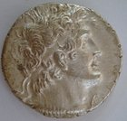 A SILVER TETRADRACHM OF PTOLEMY X SOTER II